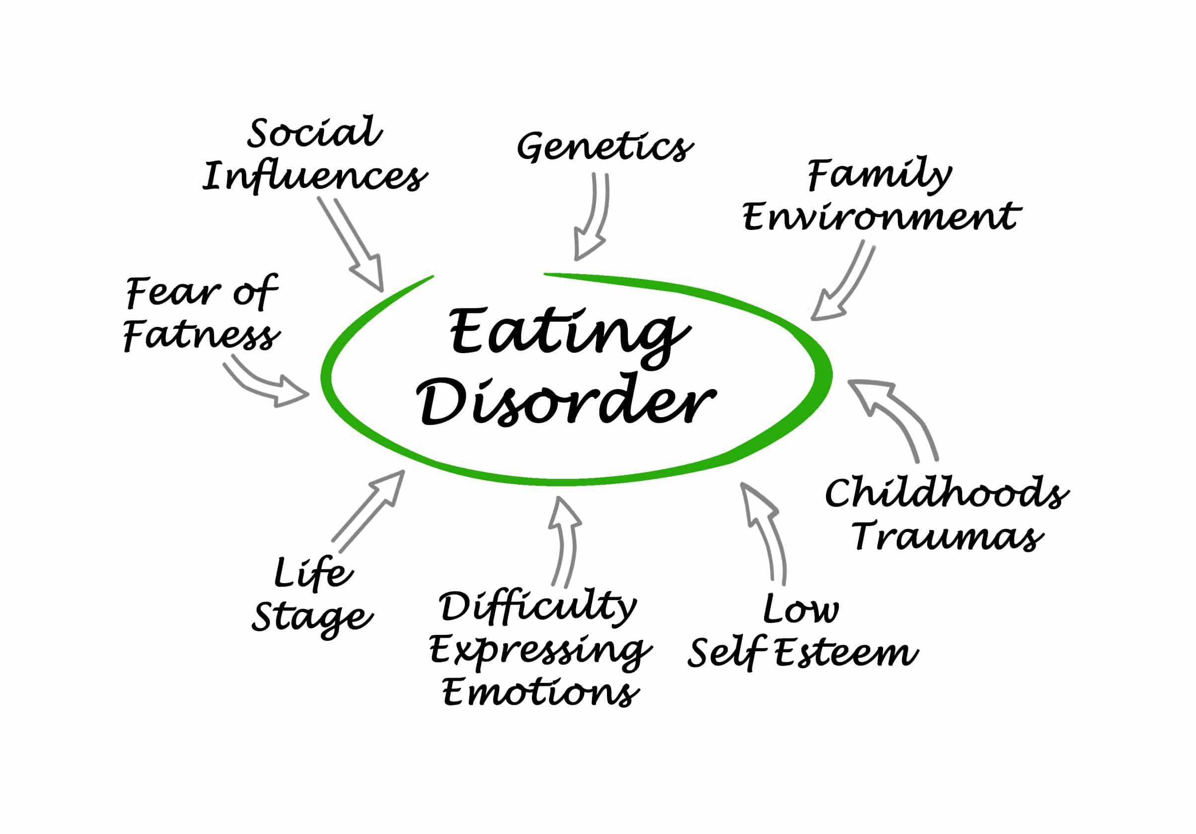 eating disorder diagram
