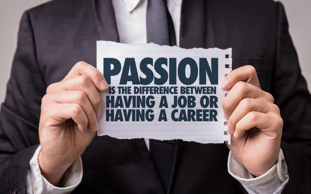 Becoming a passionate professional: